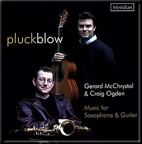 Pluckblow Music for Saxophone & Guitar